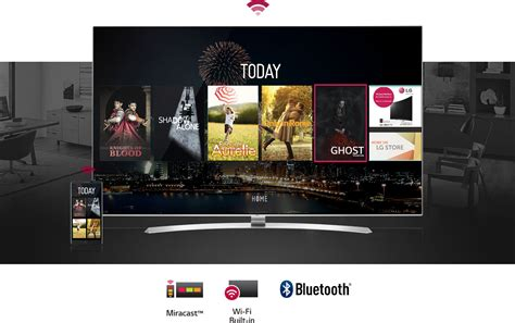 connect phone to lg smart tv lg smart tv connections wi fi miracast bluetooth more