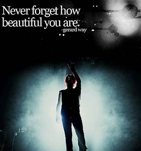 Mcr Inspirational Quotes. QuotesGram