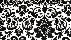 9 Best Images of Black And White Fabric Designs - Black ...