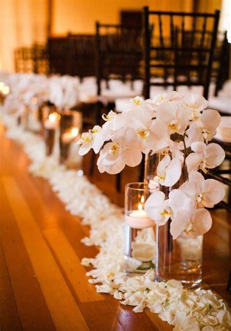 Wedding Aisle Candles Indoor Wedding Ceremony Decor