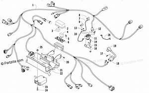 Arctic Cat Atv 2009 Oem Parts Diagram For Wiring Harness