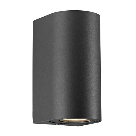 nordlux canto maxi outdoor wall light black