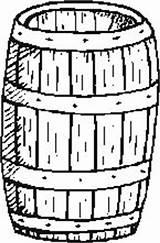 Barrel Coloring Template Templates sketch template