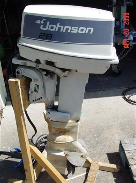 Used Outboard Motors For Sale Pa by 28 Hp Johnson Outboard Motor Used Outboard Motors For