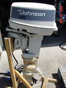 28 Hp Johnson Outboard Motor