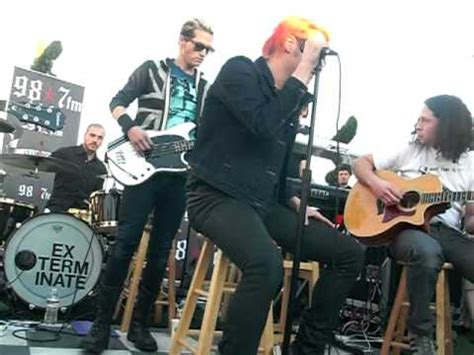 My Chemical Romance  Helena Live And Acoustic Youtube
