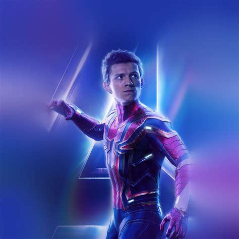 spiderman suit avengers infinitywar marvel hero art