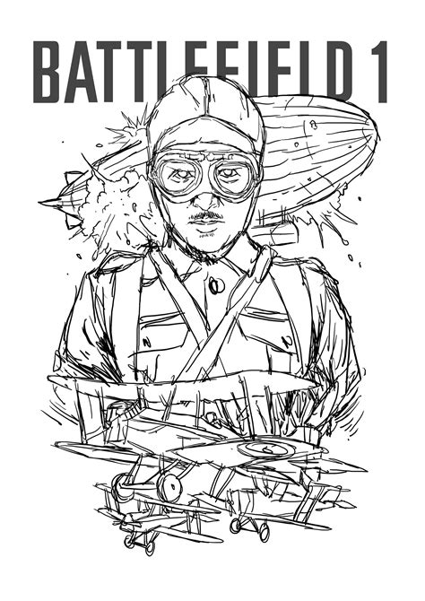 Battlefield Kleurplaat by Battlefield 3 Soldier Coloring Pages Sketch Coloring Page