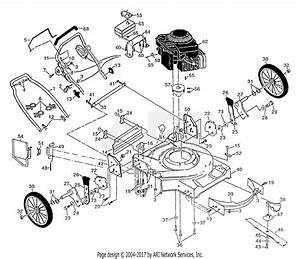 Poulan Pp722sla Mower Parts Diagram For Assembly