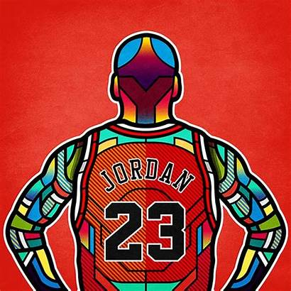 Nba Jordan Legends Stained Glass Van Orton