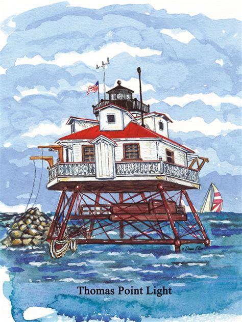 thomas point lighthouse puzzle jigsaw puzzles