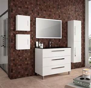 3 Suisses Meuble Salle De Bain : meubles lave mains robinetteries meuble sdb meuble de salle de bain sur pieds 100 cm ~ Teatrodelosmanantiales.com Idées de Décoration