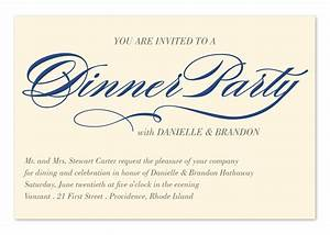 Invited to Dinner - Corporate Invitations by Invitation ...