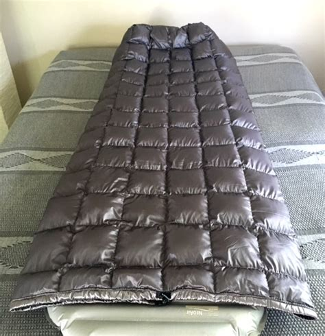 best backpacking quilt fs ul 15 9oz top quilt costco conversion 700fill