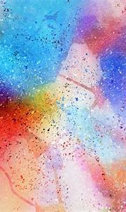 Multicolored abstract painting, Abstraction, Spots ...