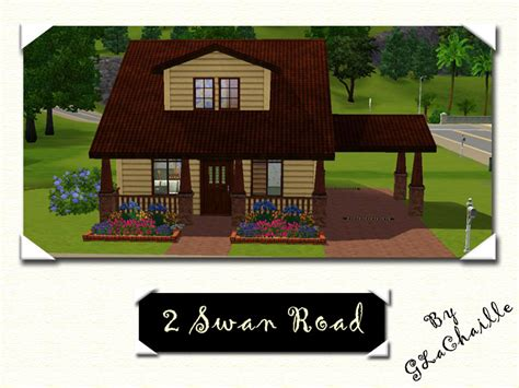 Sims 3 Floor Plans Small House by Mod The Sims 2 Swan Road
