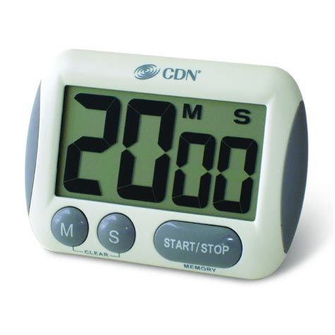 cdn tm extra large big digit timer