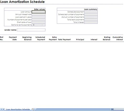 loan amortization calculator thug life monthly amortization table