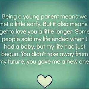 A young parent life quotes quotes quote life quote | Life ...