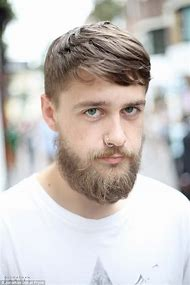 Men's Haircuts with Beards