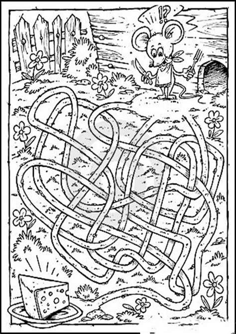 labyrinthe  ausmalbilder malvorlagen