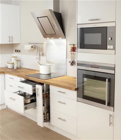 cuisine blanc laqué ikea una cocina luminosa y actual los muebles blancos