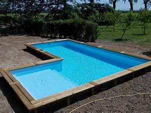 Eclairage Piscine Bois : terrasse pour piscine hors sol bois cheap eclairage pour ~ Edinachiropracticcenter.com Idées de Décoration