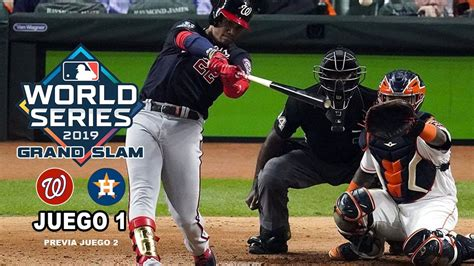 nationals  astros world series  juego