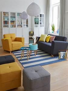 Fauteuil Jaune Alinea : gele fauteuil en poef marijke4design interieurontwerp ~ Teatrodelosmanantiales.com Idées de Décoration