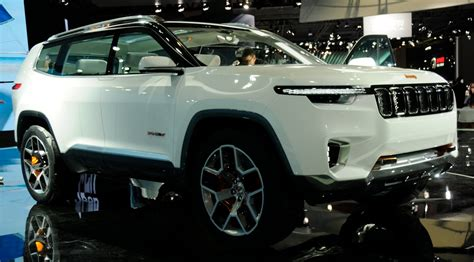 Jeep Car : Jeep Yuntu Concept Previews New 7-seater