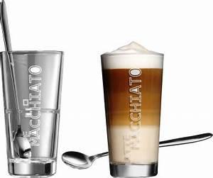 Latte Macchiato Gläser : ritzenhoff breker latte macchiato gl ser lena mit l ffel ab 8 50 preisvergleich bei ~ Yasmunasinghe.com Haus und Dekorationen