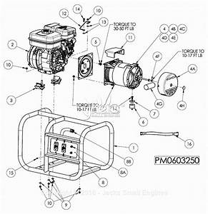 Powermate Formerly Coleman Pm0603250 Parts Diagram For
