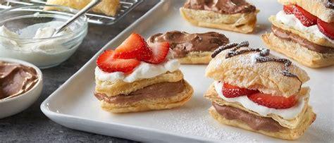 Neapolitan Napoleons   Recipe   Napoleon pastry, Napoleons ...