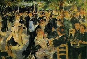 Le Moulin De La Galette By Pierre Auguste Renoir