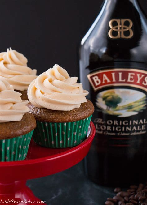 baileys coffee cupcakes  sweet baker