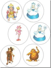 Candyland Characters Coloring Pages Printable
