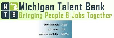 michigan works talent bank resume carpe diem september 2008