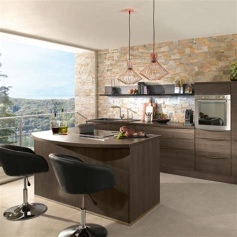 plan de cuisine moderne avec ilot central toutes nos cuisines conforama sur mesure montées ou