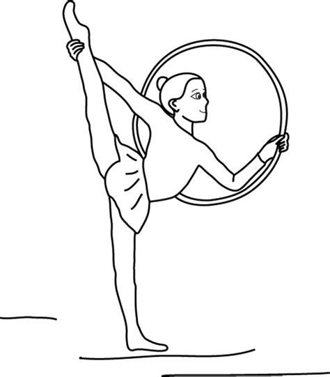 disegni di ginnastica artistica da colorare ginnastica artistica