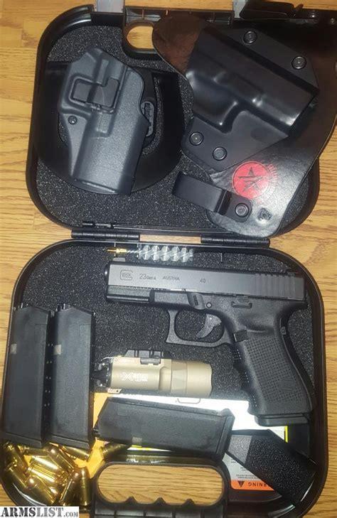 glock 23 tactical light armslist for trade glock 23 4 40 caliber