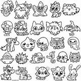 Monsters Moshi Coloring Pages Moshlings Monster Printable Colouring Sheets Cool2bkids Getcoloringpages Coloringfolder sketch template