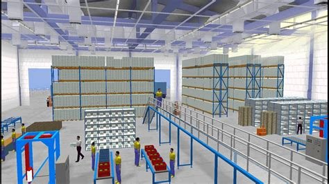 Igsg 3d Warehouse Simulation