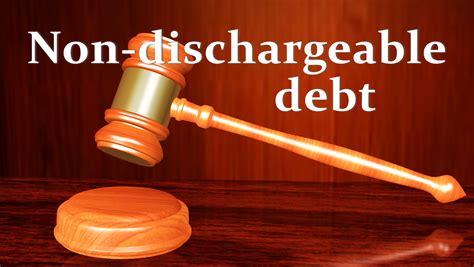 dischargeable debt    affect
