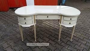 Schreibtisch Vintage Weiß : schreibtisch warrings inkl armstuhl chippendale weiss ~ Lateststills.com Haus und Dekorationen
