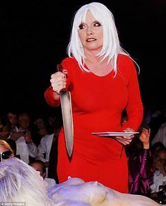 Debbie Harry Butchers A Model Of Herself In The Name Of