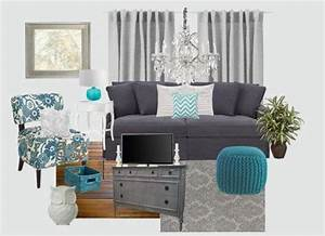 gray and turquoise living rooms google search gray With grey and turquoise living room