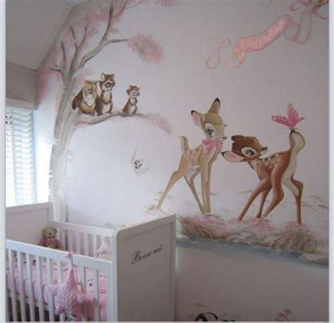 Wundervolle Wandgestaltung Fürs Babyzimmer! #bambi #baby