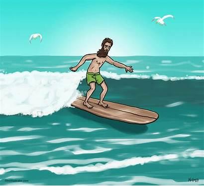 Surfer Dude Test Mcillustrator
