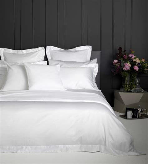 Luxury 600 Thread Count White Duvet Cover  Cotton Sateen