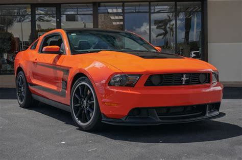 2012 Ford Mustang 302 Price 2012 used ford mustang 2dr coupe 302 at the garage